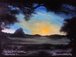 """ Subliminal Sunset... "" ( c ) Arthouse Wijn-Ton 2012..."