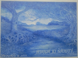""""""" Mana Ki Santi... """" 30/09/2012... (c) Arthouse Wijn-Ton 2012..."""